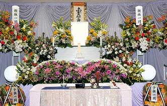 東山霊苑火葬場85祭壇