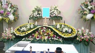 生駒市営火葬場39祭壇