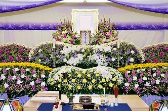 生駒市営火葬場85祭壇